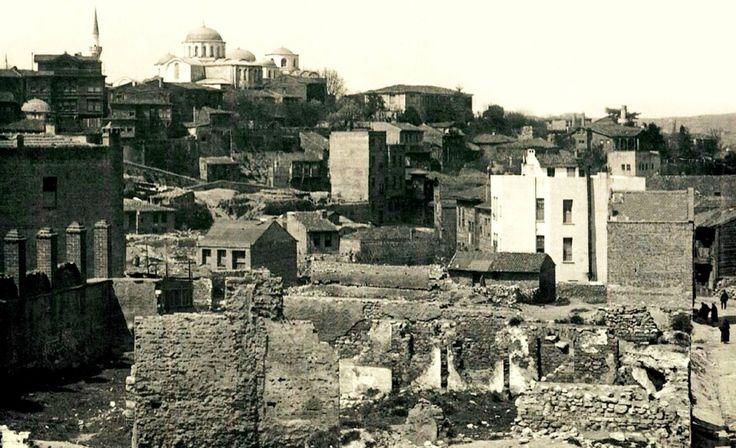 Unkapanı - Zeyrek / 1906 Yangın Sonrası