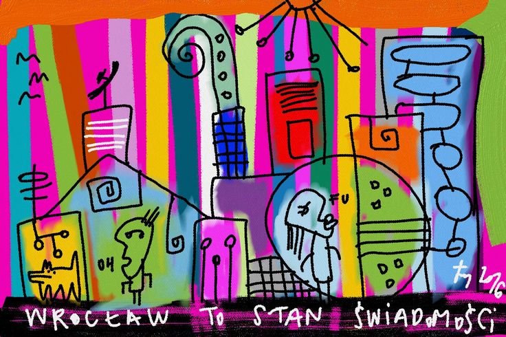 wrocław is a state of mind #art #painting #wroclaw