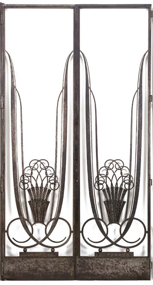 77 best ART DECO METALWORK images on Pinterest | Wrought iron ...