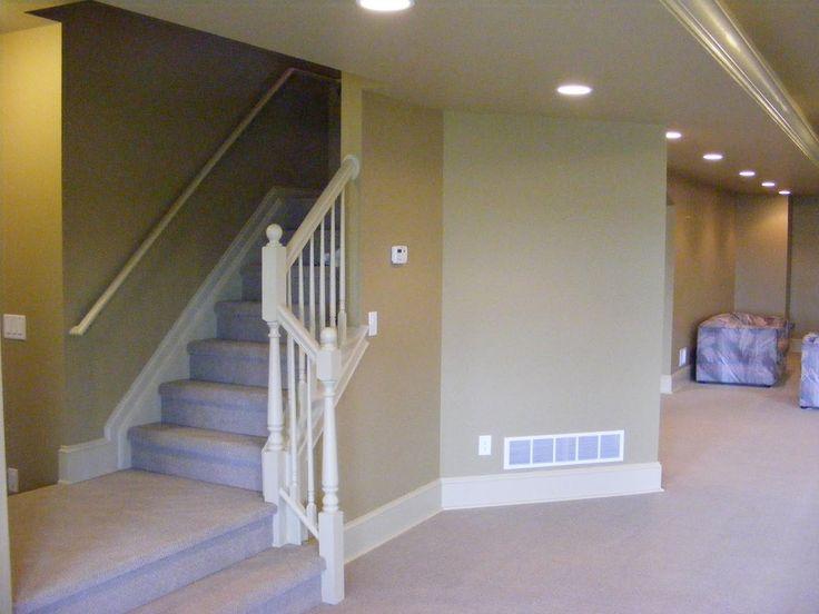 basement stairs basement ideas stair landing basements jinx staircases