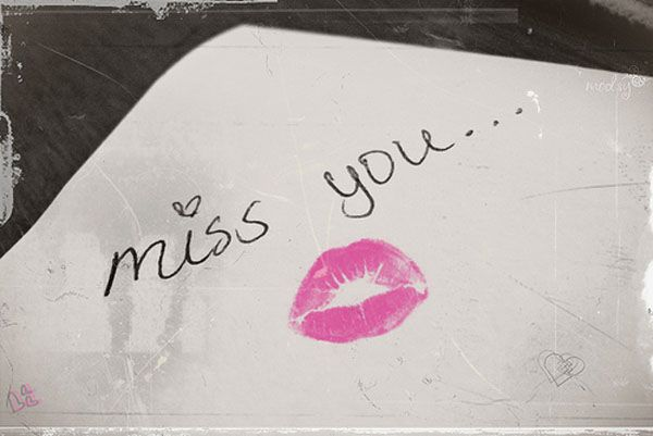 Missing Your Kiss Quotes: 17 Best Missing You Love Quotes On Pinterest