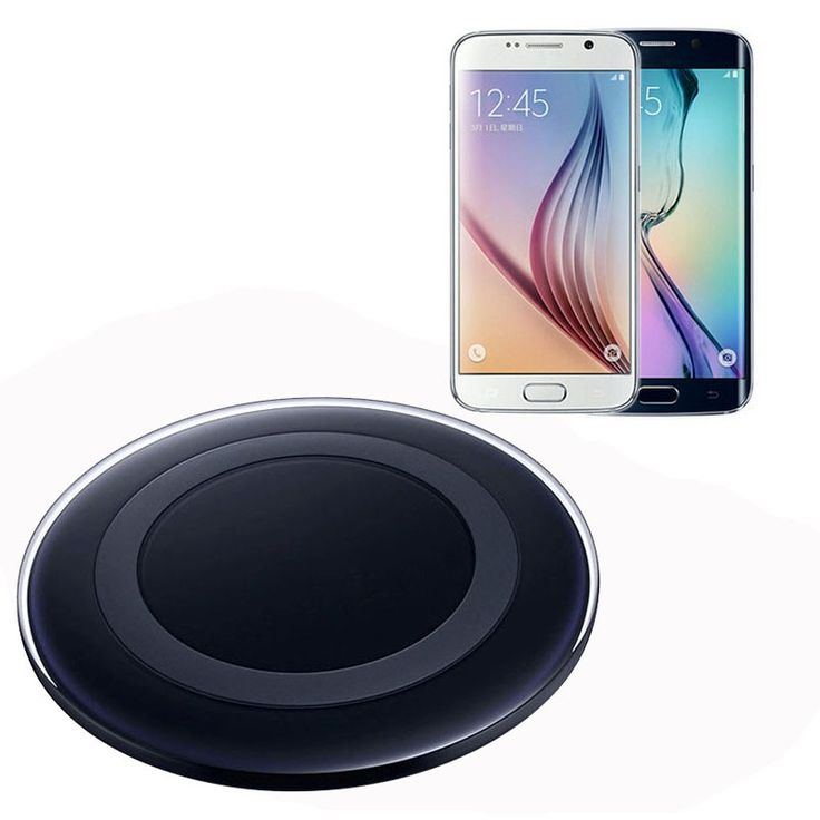 Qi Wireless Charger Charging Pad for Samsung Galaxy S6/S6 Edge New - $12.15