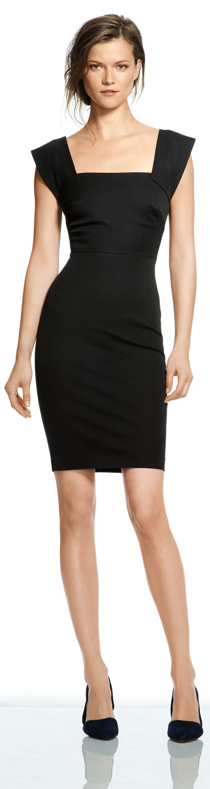 Roland Mouret For Banana Republic. I think all body types would look amazing in this dress.