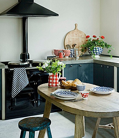 Adorable Country Kitchen.