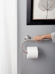 another grab bar tissue holder combo - a little more modern/sleek