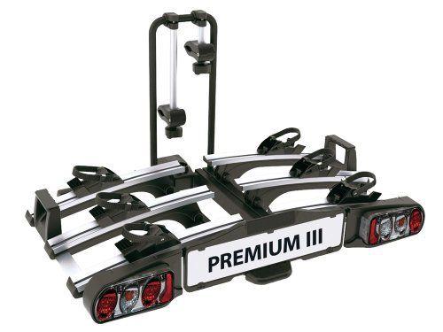 EUFAB 11522 Porte-Vélos PREMIUM 3: Le porte-vélos pliable à plateforme basculante Premium III, un concentré de praticité tout en légèreté…