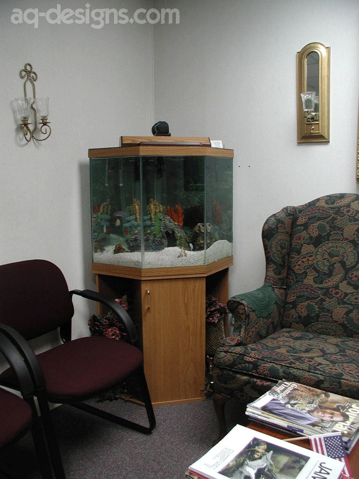 Pin by aquatic designs on aquariums pinterest for Pentagon fish tank