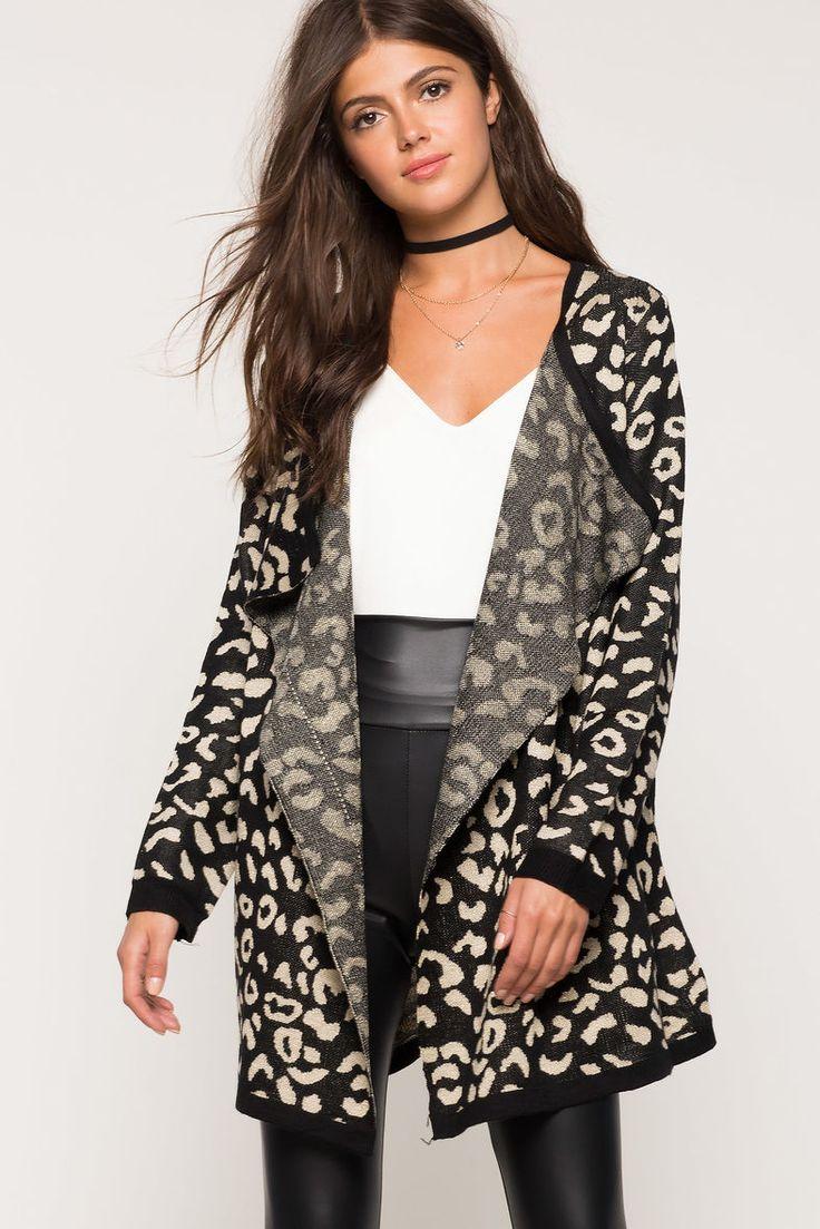 A'GACI | Metallic Leopard Cardigan | #Agaci | That NEW NEW ...