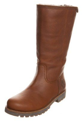 BAMBINA - Høje støvler/ Støvler - grass cuero