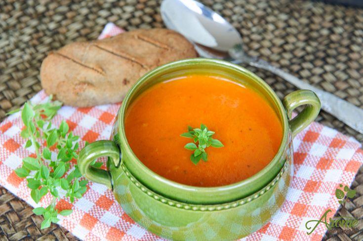 Supa crema de rosii cu busuioc - Arome de poveste