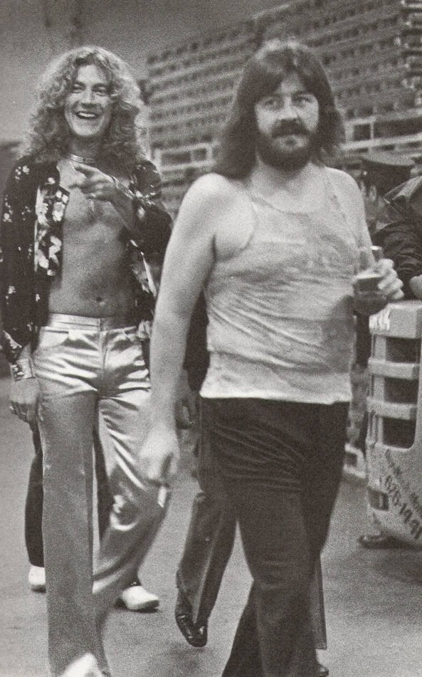 robert plant and john bonham of led zeppelin robertplant johnbonham bonzo ledzeppelin. Black Bedroom Furniture Sets. Home Design Ideas