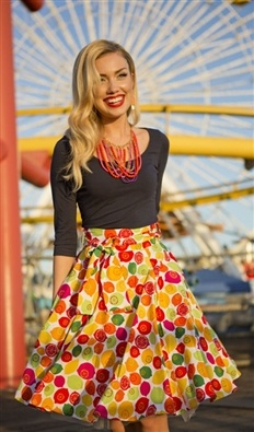 Shabby Apple Calliope Skirt