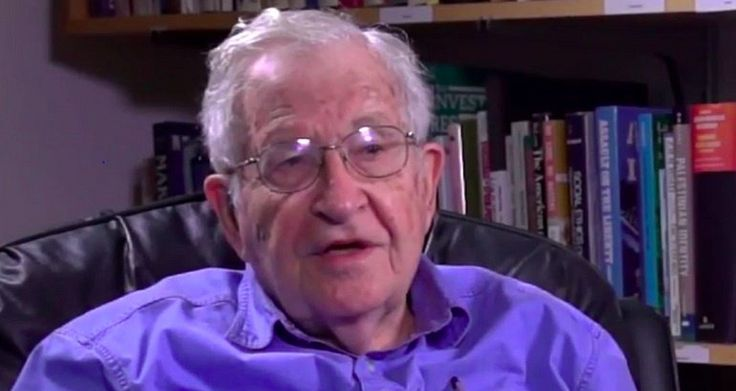 """Noam Chomsky: The GOP is 'No Longer a Normal Political Party', It's a 'Radical Insurgency' 