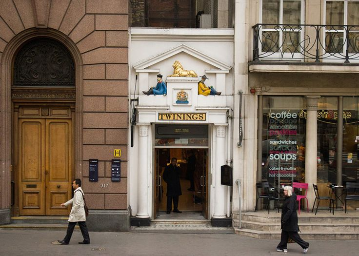 Over 300 years later, the original Twinings shop on the Strand is still in business.