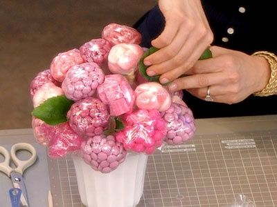 Watch Martha Stewart's Candy Centerpiece Video. Get more step-by-step instructions and how to's from Martha Stewart.