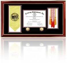 College Graduation Diploma Frame - Diploma Framing Service and Certificate Mounting Frames at Cheap Prices. Selling University Diploma Frames with Engraving Plate