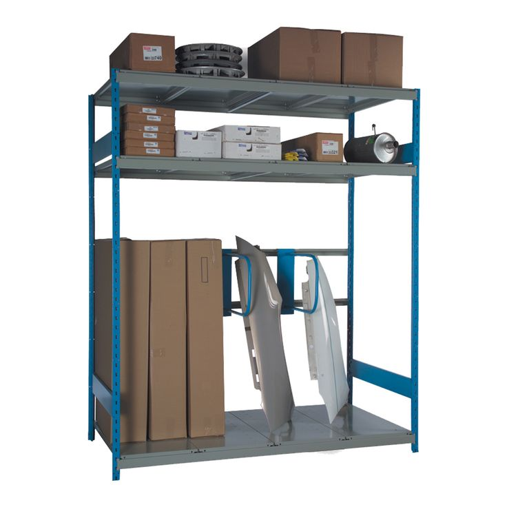 Sheet Metal Rack : No. Shelves:4 / Width (inches):72 / Height (inches):87 / Depth (inches):36 / Net weight (lb.):251.63 / Functional design that ensures it's easy to use. / The unique shape of the Spider® post is a Rousseau Metal inc. trademark. / Load capacity and design adapted to storage in most industrial and commercial sectors. / Versatile structure, to which a wide range of accessories can be added. / Common post for Mini-Racking and industrial shelving.