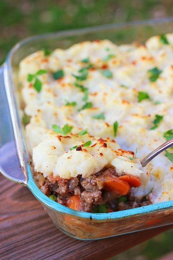 Shepherd's Pie....delicious comfort food