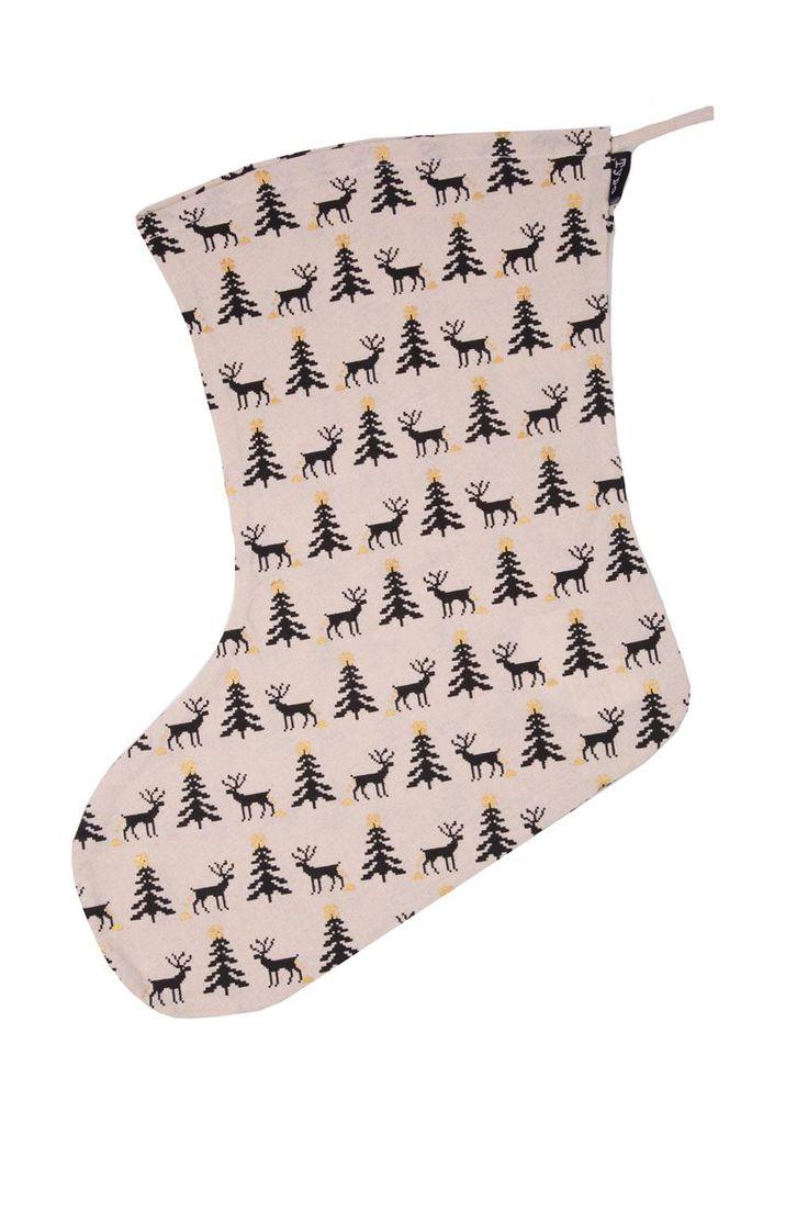 stuff it stocking #typoshop #christmas #decoration #xmas #stocking #reindeer