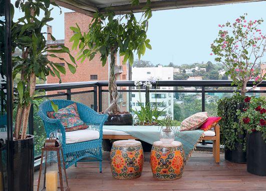 Decoracion terrazas pequeas ideas para decorar una pequea for Ideas para decorar un patio grande