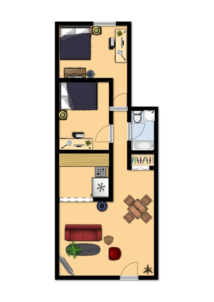 DU Apartments - Floor Plans & Rates - South University Apartments