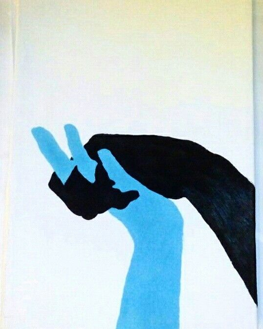 Tempera on canvas_lovers hands