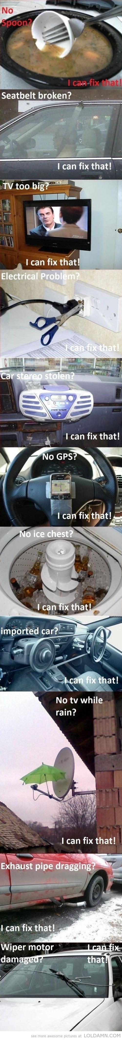 Easy fixes