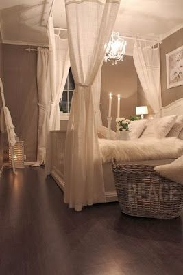 Beautifully romantic room