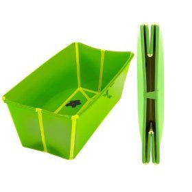 Again, for #3, whenever we go down that road. A portable tub that folds flat!! Awesome! Flexibath Foldable Bathtub $36