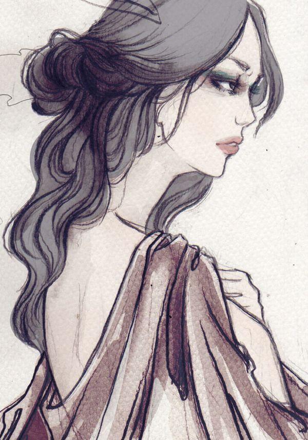 2012 Illustrations by Soleil Ignacio http://www.inspirefirst.com/2012/07/10/2012-illustrations-soleil-ignacio/