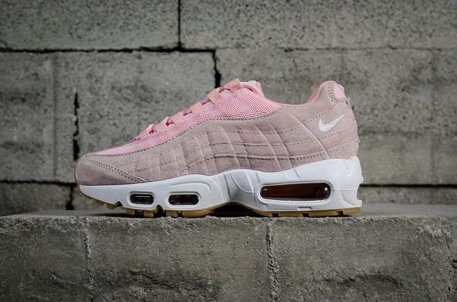 d8201440eff93 Popular Nike Air Max 95 SD Prism Pink White Sheen Black 919924 600 Nike Air  Max 95 On Sale