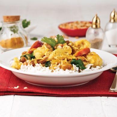 Cari au chou-fleur - Recettes - Cuisine et nutrition - Pratico Pratique