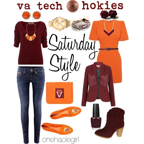 Ready for football season already... VA Tech Hokies <3
