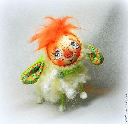 Овечий хаРактеР;) - кукла,авторская игрушка,овечка,разные