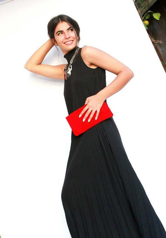 eaa968eede4 Black Dress Bridesmaid Dress Maxi Dress Evening Dress  eveningdress   promdress  daydress