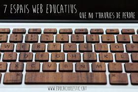 ESPAIS WEBS EDUCATIUS