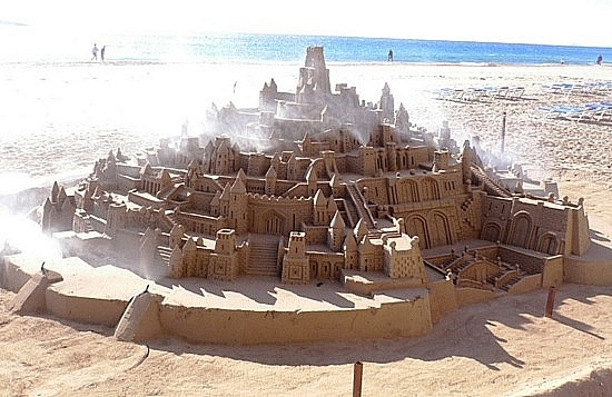 Image detail for -Sandcastle spotted on the beach, Benissa, Spain: Sea Eventually, Hot Spots, Member Foreman, Sandcastle Spotted, Member Gary, Gary Foreman, Czech Republic, Beach