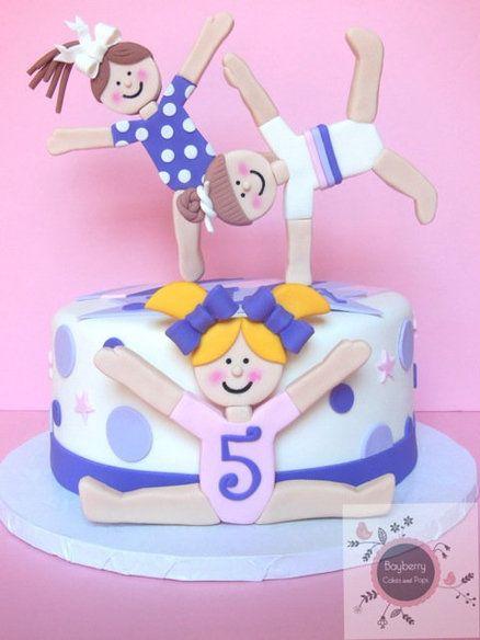 Gymnastics cakes
