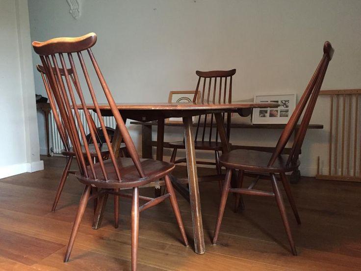 25 Parasta Ideaa Pinterestissä Ercol Table Mesmerizing Second Hand Ercol Dining Room Furniture Design Decoration