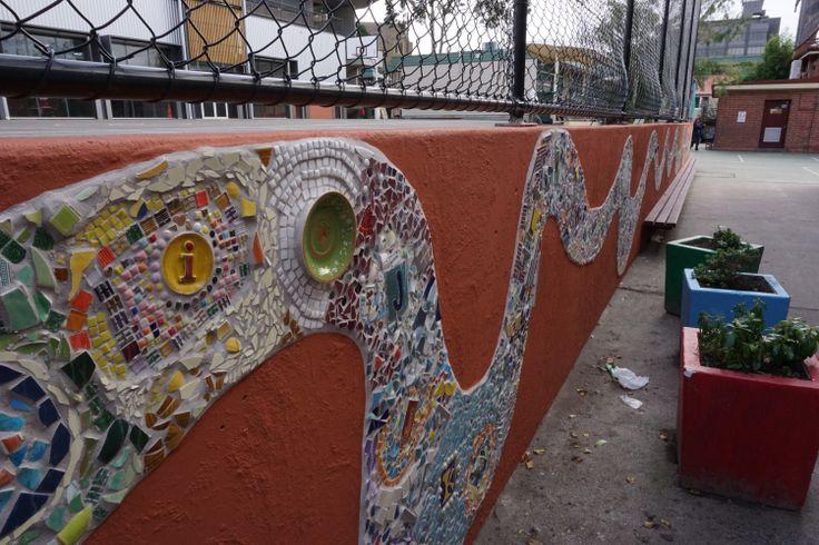 CPS Rainbow Serpent Mosaic 2014