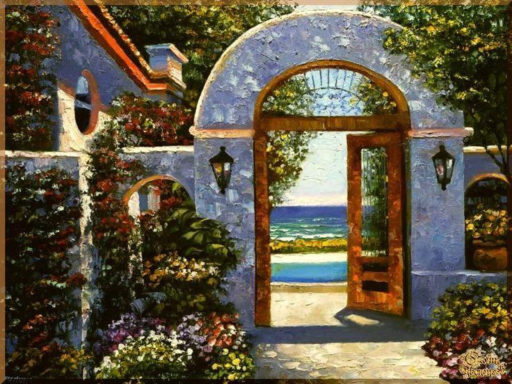 Mediterranean - 133 Средиземноморье, картины, подарки