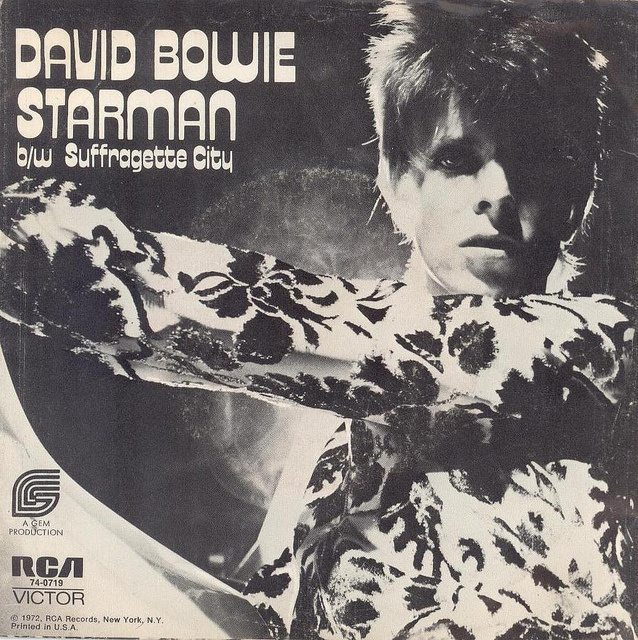 Image result for david bowie suffragette city double a side