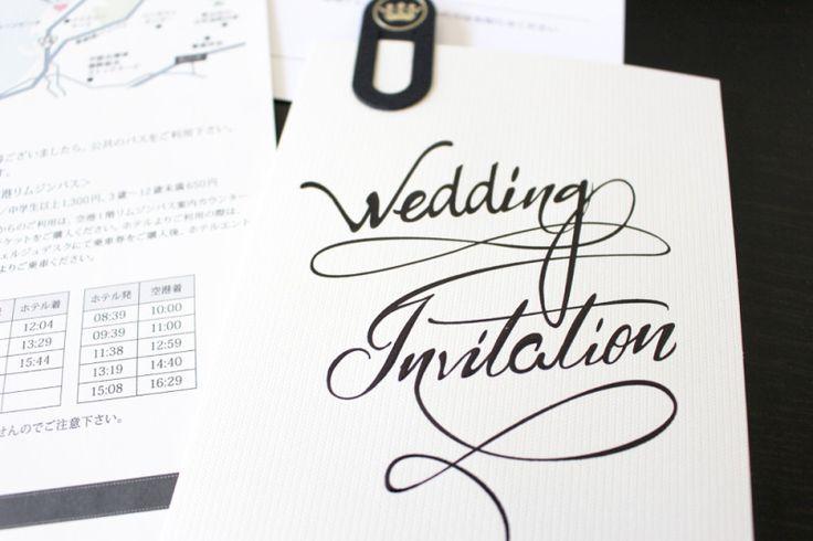 結婚式の招待状を作ってみた┃Less is Beautiful