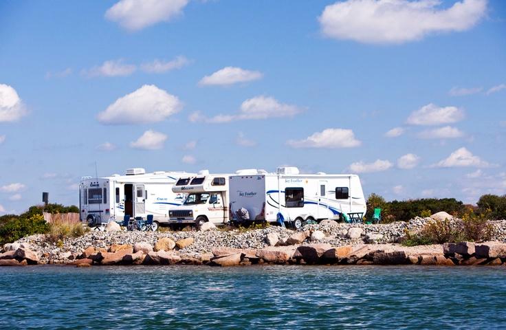 Rhode Island State Parks Beach Camping