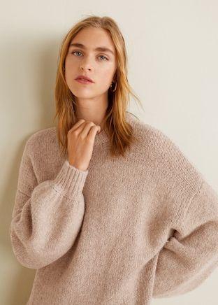 9a89dc896d31 Jersey largo punto - Cárdigans y jerséis de Mujer   Invierno 2019 Sweaters    Punto, Invierno y Largos