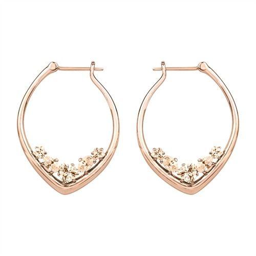 Joop Ohrschmuck Simply Modern Zirkonia JPCO00001C000 http://www.thejewellershop.com/ #joop #schmuck #ohrschmuck #earrings #creolen #zirkonia #jewelry #roségold