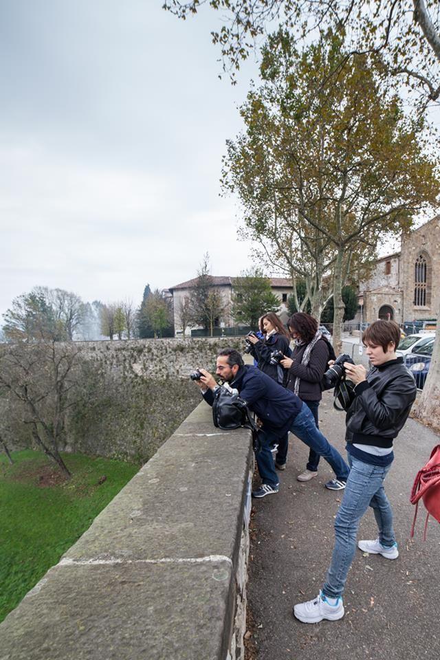 Uscita fotografica in Bergamo Alta con il corso di fotografia Base 2014