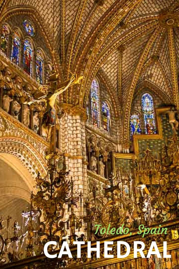 The Cathedral of Toledo, Spain via @travelpast50