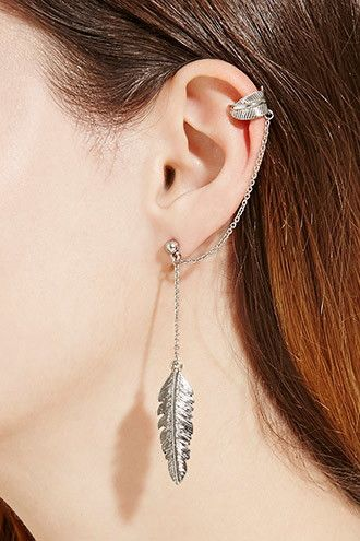 Mixed Chained Ear Cuff Set