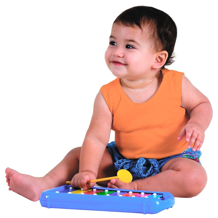 The Halilit Baby Xylophone is great for developing imagination and creativity, fine motor skills and a sense of rhythm.